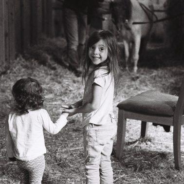 A black and white photo og