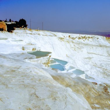 Pamukkale Calcium Terraces, Pammukale, Turkey